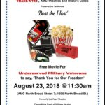 Beat The Heat Free Movie for Underserved Veterans